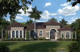 pictures of house designs and floor plans mediterranean house plan 1 story small home floor plan with pool