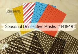 decorative masks how to use the seasonal decorative masks tutorial patty s
