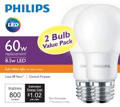 Led Light Bulb Brands by Philips Unveils A 60 Watt Equivalent Led Bulb For 4 97 Geek Com