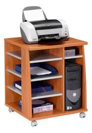bureau imprimante autour du bureau meubles de rangement pour imprimante conso info