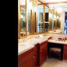 L Shaped Bathroom Vanity by L Shaped Bathroom Vanity Great Corner Dual Vanity Shiplap Paneled