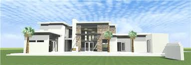 Contemporary Home With 4 Bdrms This Is An Ultra Modern House Plan With 2 Bedroom Suites