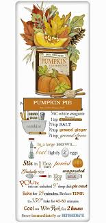classic pumpkin pie thanksgiving recipe 100 cotton flour sack