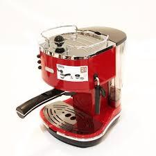 delonghi magnifica red light de longhi icona eco310 r pump espresso machine scarlet red amazon