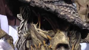 scarecrow halloween mask creature reacher scarecrow halloween costume youtube