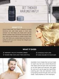 amazon com hair fibers conceal hair loss thinning hair and bald