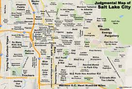 Judgemental Maps Chicago by Map Of Salt Lake City My Blog