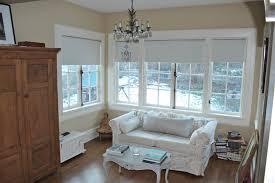 kitchen charming home interior design using roller shades