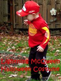 Lightning Mcqueen Halloween Costume Disney Cars Lightening Mcqueen Child Halloween Costume