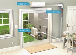 ductless mini split concealed ductless heating and cooling units