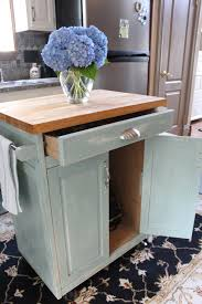 Low Cost Kitchen Design by Kitchen Cart Makeover Hometalk