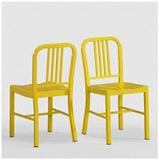 metal kitchen chairs