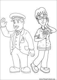 drawings paint u0026 colour fireman sam print design 052