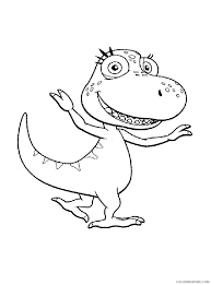 dinosaur train coloring pages pteranodon coloring4free