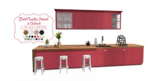 simsational designs shaker kitchen updated sims 4 cc finds
