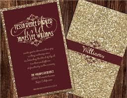 wedding invitations burgundy chagne and burgundy wedding invitations maroon wedding