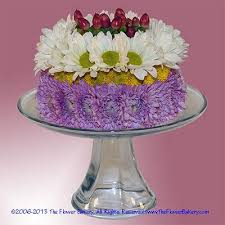 unique flower arrangements berry delight flower cake white lavender send unique
