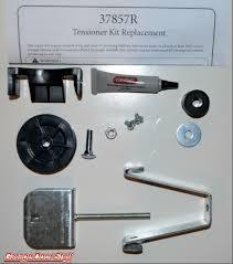 Garage Door Assembly by Genie Tensioner 37857r