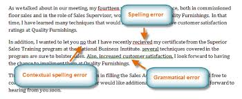 Correct Way To Spell Resume Word 2010 Checking Spelling And Grammar Full Page