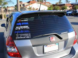 honda fit with decals google search honda fit pinterest