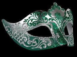 silver masquerade masks for women stella venetian masquerade mask for women silver green