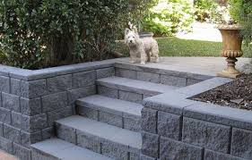 Retaining Wall Stairs Design 35 Retaining Wall Blocks Design Ideas How To Choose The Right Ones