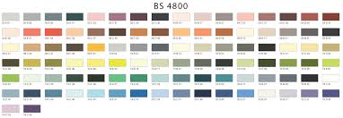 standard colours available