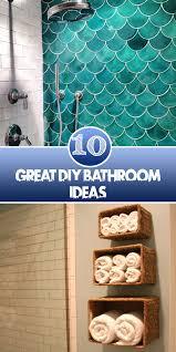 Diy Bathroom Ideas 10 Great Diy Bathroom Ideas Diys And Hacks