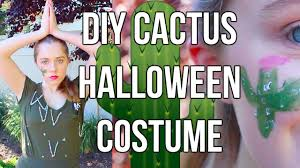 affordable last minute diy halloween costume pun cactus