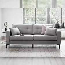 3er sofa grau sofa in der trendfarbe grau wohnideen room