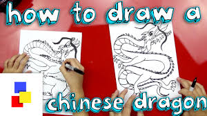how to draw chinese dragon youtube
