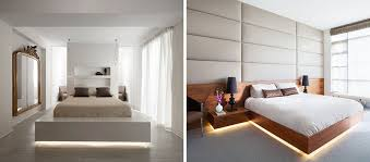 Lighting In Bedrooms 9 Exles Of Beds With Lighting Underneath Contemporist