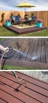 how to build a floating deck the home depot floating deck