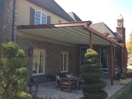 Rooftop Awning Retractable Rooftop Awnings