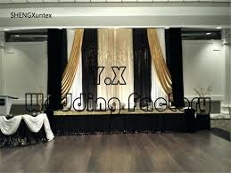 Black Backdrop Curtains Black And Gold Curtains Cheap Price Wedding Backdrop Curtains