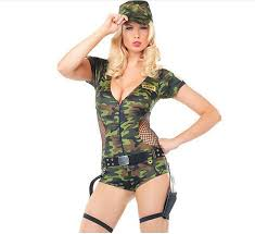 camouflage dresses halloween dress costume for women cosplay