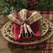country farmhouse cloth napkin