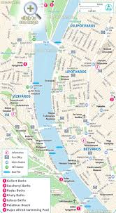 Large Scale Map Budapest Maps Top Tourist Attractions Free Printable City