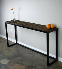 industrial console table with drawers industrial sofa table galvanized console sofa table with drawers