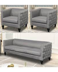 living room set for sale memorial day sale annuziata 3 piece living room set upholstery gray