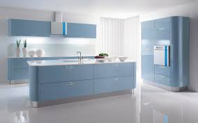 Colors For Kitchen Walls by Kitchen Blue And White Color Interior Kitchen Design With Warm