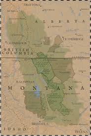 Maps Of Montana Crown Of The Continent Crown Reporting Project University Of