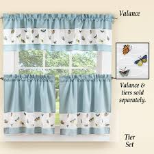 Cafe Tier Curtains Tier Curtains Cafe Curtains Sears