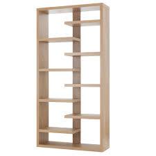 dining room bookcase oak veneer shelving unit toronto modern