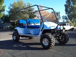 lifting your golf cart