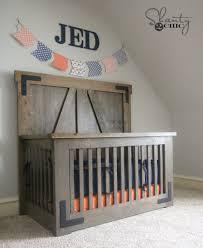 Convertible Crib Plans by Diy Farmhouse Crib Shanty 2 Chic