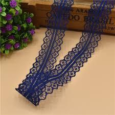 navy lace ribbon beautiful 10 yards navy lace ribbon 28mm lace trim fabric diy