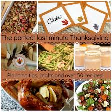 i m a big planner so our turkey day dinner menu s been on the fridge
