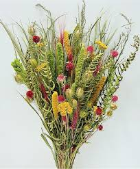 dried flowers dried flower bouquet painted desert bunch dried flower bouquet