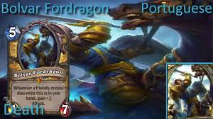 Bolvar Fordragon Meme - bolvar fordragon card sounds in 12 languages hearthstone youtube